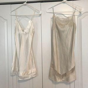 2 Bridal Victoria's Secret lingerie slips